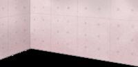 粉红混凝土墙壁