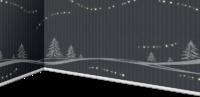冬季灰色墙板